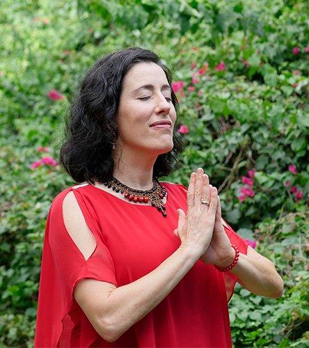 meditating praying